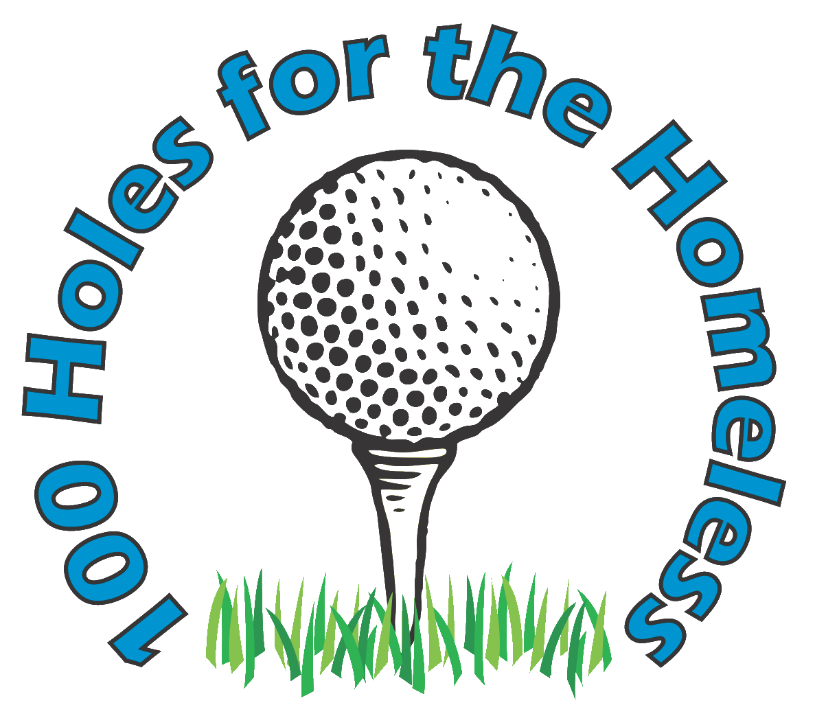 Hundred holes logo